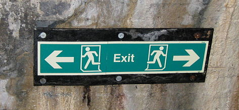 """Hyde Bank Tunnel halfway sign"" by David Jones"